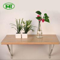 厂家直供出口品质 墙壁挂金属支架折叠桌 铁木挂墙桌 书桌餐桌