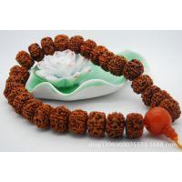 尼泊尔金刚菩提子 藏式大金刚佛珠 车挂 提珠 金刚菩提籽DIY