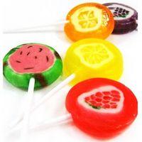 【老先森】韩国正品进口零食NARA水果切片棒棒糖300g 一件代发