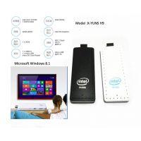 智能电脑棒微型小电脑Intel mini PC主机Windows8迷你PC棒电脑棒32GB存储 白色