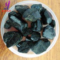 嘉硕建材厂家供应 晶体电气石 黑色电气石粉 晶体电气石粉