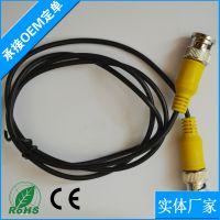 无氧铜芯线 监控视频专用跳线 工程摄像机视频监控线