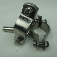 304/316L 天目 不锈钢德标管卡的种类标准管卡夹管子卫生级管子夹管夹的英文管道支架布置 厂家