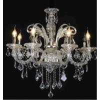 CVMA厂家热销 欧式蜡烛白炽灯 客厅 酒店 别墅专用水晶吊灯5033C-8A