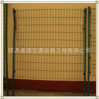 陕西盛园特产 西安高速公路双边丝护栏 防护网 浸塑双边丝护栏网