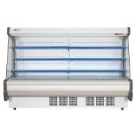 蓝诺立式连体机组3米敞开式风幕柜 水果蔬菜冷藏展示柜SLG-3000F