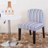 厂家直销实木餐椅 可拆洗咖啡厅椅 时尚酒店椅子 简约靠背餐桌椅