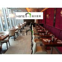 上海市饭店家具 酒店西餐桌椅供货直销价 韩尔现代品牌工厂