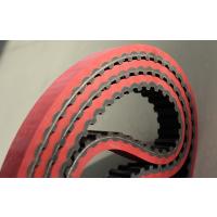 包装机皮带 加红胶无缝同步带 耐磨加胶同步带