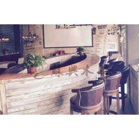 5m餐厅木质船型酒吧台 木制船型餐桌 酒店道具木船 酒吧景观装饰船