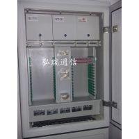 弘瑞厂家批发空架试SMC/冷轧板光缆配线箱 576芯三网合一光缆交接箱