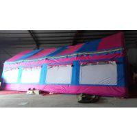 北京大兴五环精诚厂家定做大型红白喜事婚庆充气帐篷流动餐饮帐篷