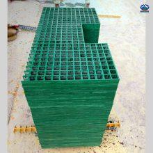 绿色玻璃钢格栅树篦子 厚度25mm 河北华强