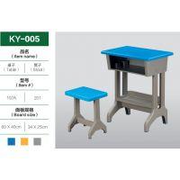 幼儿小学初中高中学生学校专用培训班塑钢单人课桌椅厂家直销批发
