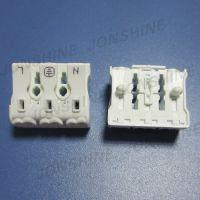接线柱 接线端子 快捷式端子台 三位捷线端子 出品专用 灯饰配件