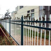工厂外墙锌钢围栏网,锌钢围墙栅栏
