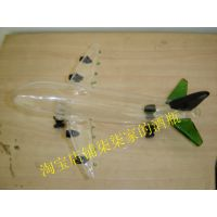 创意家居玻璃摆件 飞机酒瓶