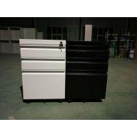 丰龙钢制办公活动柜 三抽屉活动文件柜 3抽移动矮柜 带轮子桌底柜