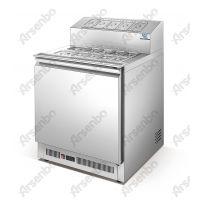 浙江芝士保鲜展示柜 不锈钢炮台柜图片 芝士冷藏柜价格 浇汁柜保修