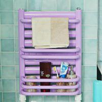 卫浴专用钢制小背篓暖气片家用壁挂式散热器卫生间水暖过水热