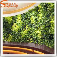 仿真植物墙 垂直绿化植物墙 雾培垂直绿化背景墙