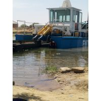 淮南抽沙挖泥船供应 安徽射吸液压水库清淤船hc