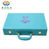 厂家化妆品包装盒定做 高档PU皮盒 养生保健品礼品盒 精油盒