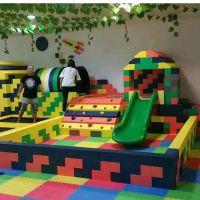 专业定制儿童乐园EPP积木亲子互动大乐园 百万海洋球池木质大滑梯游乐场设备