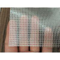 PVC透明夹网布 方格网眼布 周转箱抗静电防尘帘