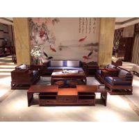 名琢世家红木软体沙发刺猬紫檀新中式沙发新品火爆招商加盟中