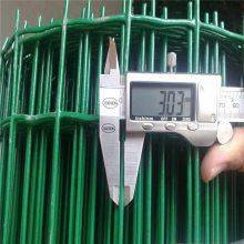 养鸡圈鸡护栏绿色包塑铁丝网寿命长--优盾丝网厂供应围栏网