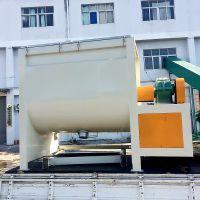 奔凡供应 BF-W1500KG 塑料色粉加热混料机 油温烘料 翻炒型 卧式不锈钢混料机