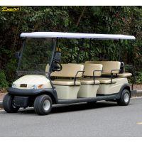 卓越11座新能源看房景区电动车游览车四轮电瓶车加盟代理旅游车