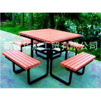 新疆休闲椅厂家 乌市公园椅厂家物美价廉 昌吉塑木休闲椅美观耐用