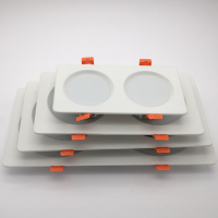 广东丰惠工厂直销 AF-G100mm-2.5寸压铸筒灯外壳3W嵌入式贴片天花灯外壳套件