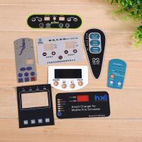 厂家定做开关按键PVC面板PC面板PET面板标签面贴面膜标牌