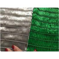 300克蓝色聚酯纤维阻燃柔性防尘网厂家批发