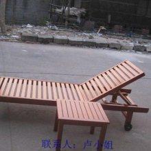 泳池躺椅,木制沙滩椅,海边实木躺椅
