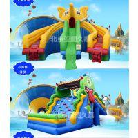 北京亚图卓凡科技充气滑梯厂家定制儿童乐园玩具卡通滑梯水上探险娱乐厂家可定制尺寸