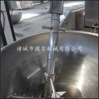 花生糖 花生酥糖炒锅 德尔厂家直销 电磁加热全自动行星搅拌混合机