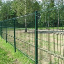 护栏网现货 铁丝网围栏 绿色防护网
