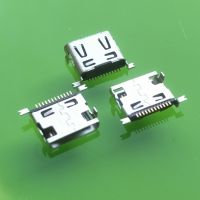 飞利浦mini母座 MINI单排12P贴片母座 迷你USB12P前插后贴连接器