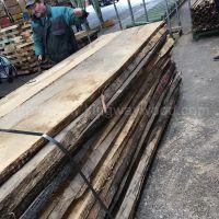 金威木业最新到港德国白橡实木板材50mmABC级 门床酒柜橱柜用板 橡木 板材