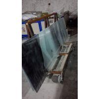 厂家定制夹丝玻璃 夹绢山水画玻璃 夹丝画隔断屏风就选河南郑州誉华召创