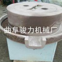 低速研磨电动石磨豆浆机 商用石磨电动磨米浆机 骏力畅销 芝麻米浆机