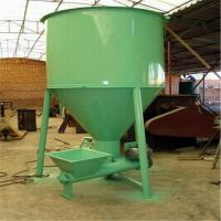 山东泰丰酒槽式腻子粉搅拌机 干粉自动上料混合机 1吨型销量高
