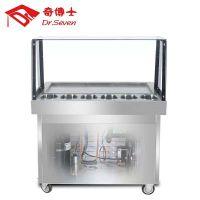 广东深圳有奇博士长方锅带6桶炒冰机卖吗?