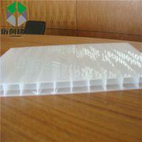 广东汕尾 三层阳光板8mm  乳白色空心PC板 聚碳酸酯板材 十年质保