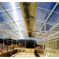 抗老化耐拉耐用四层阳光板pc湖蓝耐力板材质公共体育场馆屋面采光采光瓦