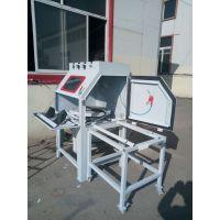 小型转盘式喷砂机适用于异性五金工件